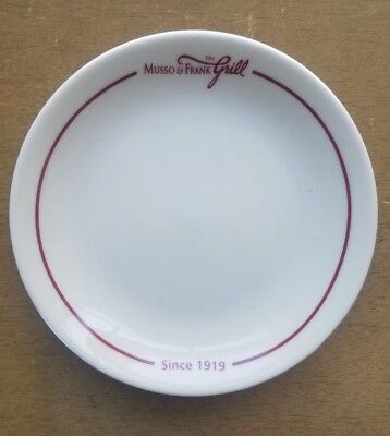 Vintage Musso & Frank Grill Restaurant Side Plate Hollywood Homer Laughlin China