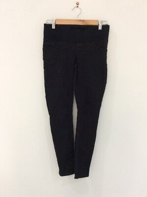 ASOS Womens Maternity Skinny Leg Stretch Jeans Black Size US 4 / UK 8 [P3]