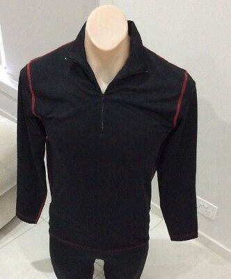 Mens Super Comfy Wild Country Thermal Lycra Long Sleeve Top Size Medium [MJ1]