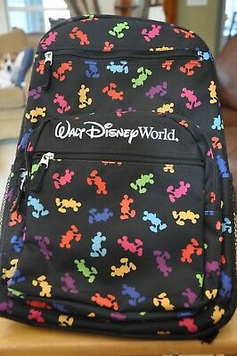 Walt Disney World Mickey Mouse Backpack - NEW