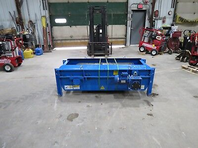New magnetic conveyor for recycle concrete rebar crushing
