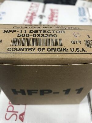 New Siemens Hfp-11 Intelligent Photoelectric Fire Alarm Smoke Detector