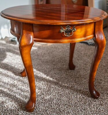 Victorian Style Mahogany End Table