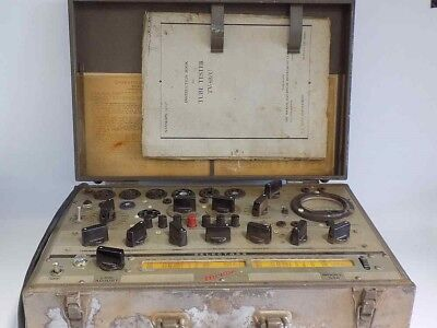 Hickok 546 Transcondctance Tube Tester Civilian Version Of The Military Tv-3