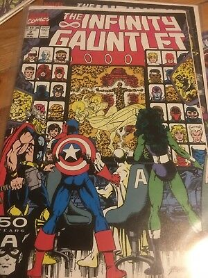The Infinity Gauntlet #2 and #3 lot (Marvel, 1991)