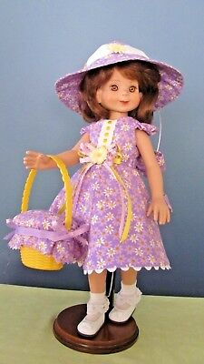 "Daisy Dress made for 14"" Betsy McCall/ 13"" Effner Little Darling/13"" Maru Dolls"