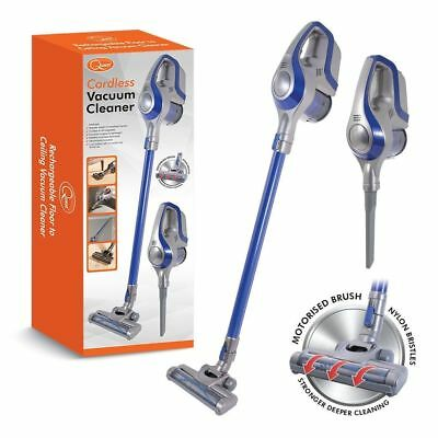 New Quest Cordless Handheld Upright Stick Floor Carpet Upholstery Vacuum Cleaner