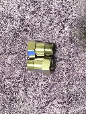 O2 oxygen sensor extension extender adapter spacer M18X1.5 CEL FIX (2) Bung 02