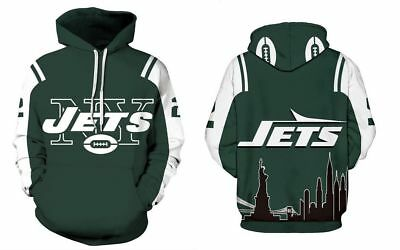 5d72da78257a New York Jets Hoodie Medium-XXL 2XL Unisex Men Women Football NY Sweatshirt