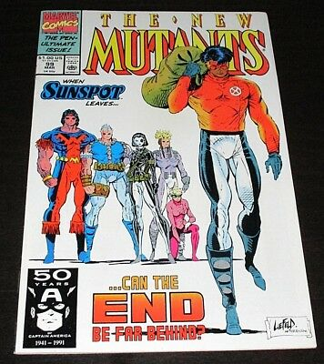 NEW MUTANTS #99 1st appearance FERAL & SHATTERSTAR High Grade NM/NM+ Movie soon!