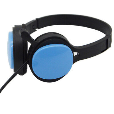 Wired Headphone Over-ear Headset Hands-free With Mic For Mobile Phones Computers