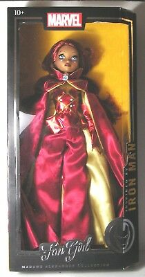 "NEW, MADAME ALEXANDER FAN GIRL,  inspired by IRON MAN, MARVEL COMICS, 14"" DOLL"