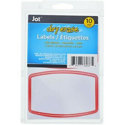 Dry Erase LabelsNever lose track of notes and memos again! Heavy-duty magnetic
