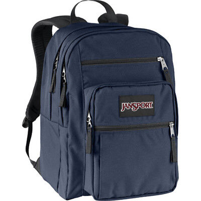 JANSPORT BIG STUDENT (NAVY BLUE) BACKPACK 100% AUTHENTIC BRAND NEW w/TAG!!