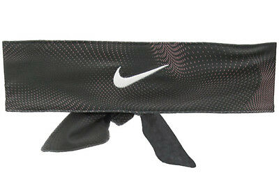 New Women Nike Swoosh DRI-Fit Head Tie 2.0  Headband Tennis Running Basketball *