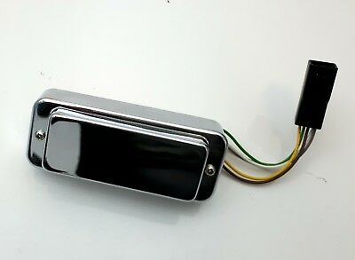Original Gibson chrome mini Humbucker Pickup Pat. No 2737842 NEW