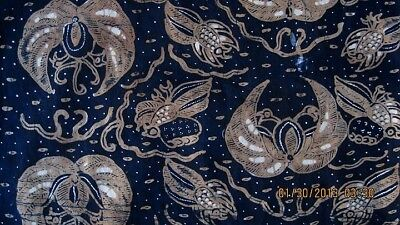 lowest price b2249 7422d RARE BATIK TULIS Javanese Batik JAVA INDONESIA KEMBEM/BREAST CLOTH