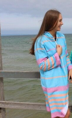 Turkish Towel Robe Back Beach Co Fiesta
