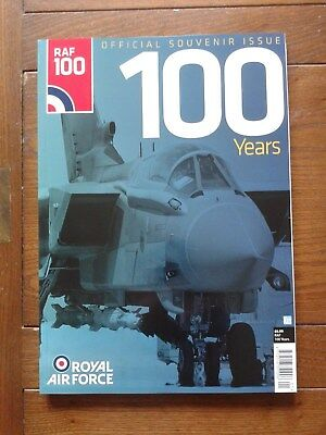 RAF 100 Official Souvenir Issue  100 YEARS  NEW
