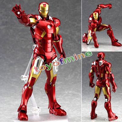 The Avengers Action Figure Marvel 217 Iron Man Mark 7 Collection Kids gift Toys