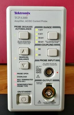 Tektronix TCPA300 AC/DC Current Probe Amplifier Excellent full working condition