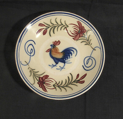Cochin China Cockerel Plate Cochinchine South Vietnam