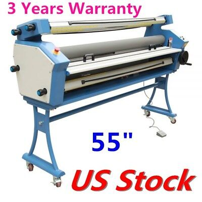 "US Stock Upgraded 1400mm(55"") Full-auto Large Format Cold Laminator Entry Level"