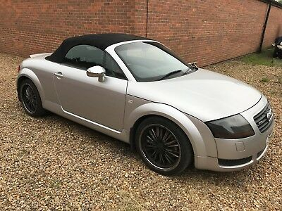 2002 51 Audi Tt 225 Roadster 1.8T Convertible Runs/drives Well Spares Or Repairs