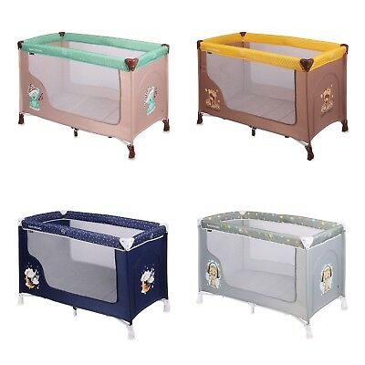 Travel Cot Bed Playpen Infant Baby Child Bassinet Entryway 0+ Months & Carry Bag