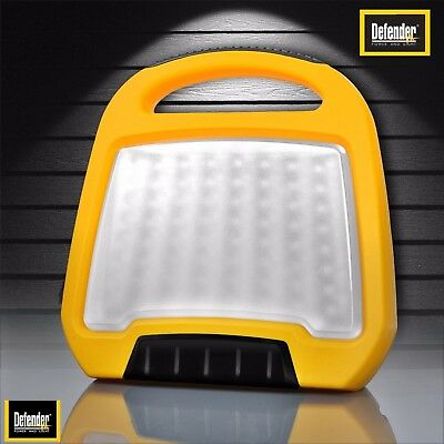 Defender Compact LED Floor Worklight Lamp 240V E709180 Rubber Anti Shock