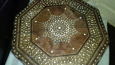 Antquie Anglo Indian inlaid Hoshiarpur Occasional side coffee Table