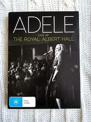 Adele - Live At The Royal Albert Hall – Dvd+Cd, R-4, Like New, Free Post