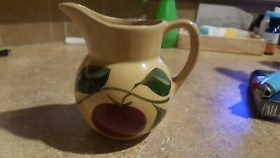 Watt Pottery Rare Apple #62 Creamer