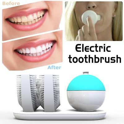 Electric Electronic Toothbrush Medical-Grade Silicone Antibacterial Teeth Brush