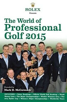 Rolex Presents the World of Professional Golf 2015 - New Book IMG/Rolex
