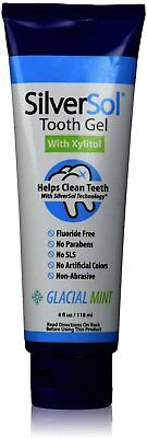 SilverSol Tooth Gel with Xylitol and Peppermint Oil, American Biotech Labs, 4 oz