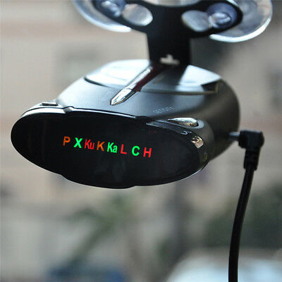 Safety Mobile Speed Radar Alarm Detector Support English Russian Audio Broadcast