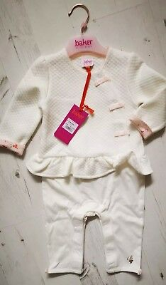 BNWT Ted Baker Baby Baker girl's outfit 6-9 months