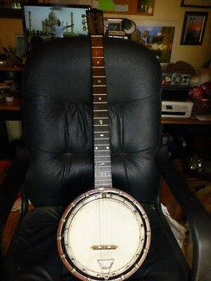 ANTIQUE BANJO OLD 5 STRING WINDSOR BANJO APPOX 1920s POSSIBLY EARLIER.