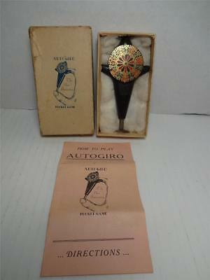 "Vintage - 1920's ""autogiro"" Roulette Pocket Game!"