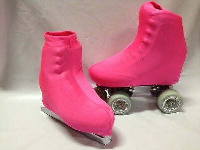 Pink Boot Covers for RollerSkates and Ice Skates Small Only