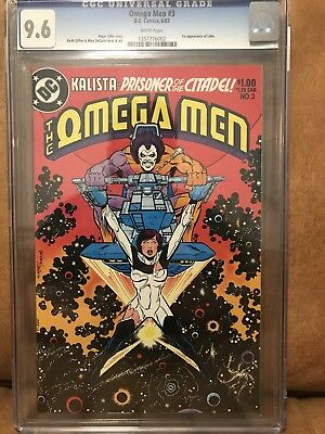 The Omega Men #3 CGC 9.6 DC Comics 1st appearance of LOBO!