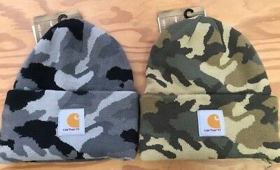 CARHARTT MEN S CAMO Watch Cap -  17.99  45d91c83fafb
