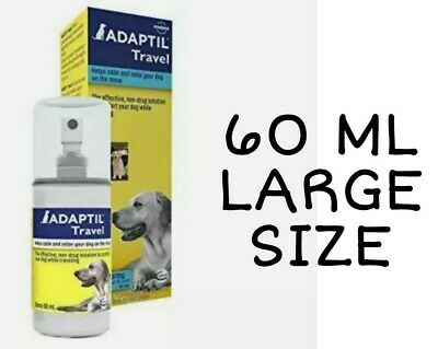 Adaptil Travel Calming Spray for Dogs, 60 ct sprays, EX 2021 +