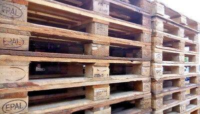 Euro Pallets 1200mm x 800mm Heavy Duty Wooden Pallets