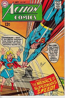 Action Comics #367 Vol 1 (1968) FN-  Neal Adams Cover Silver Age