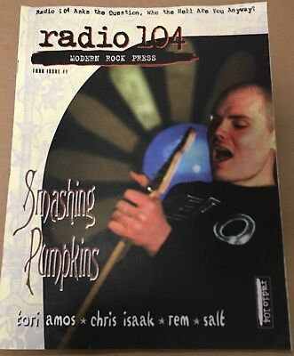 WMRQ Radio 104 RARE Modern Rock Press magazine Issue 1 1996 Smashing Pumpkins