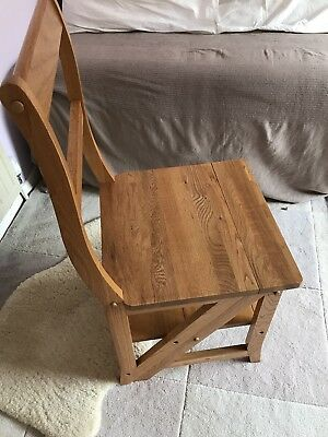 library chair steps