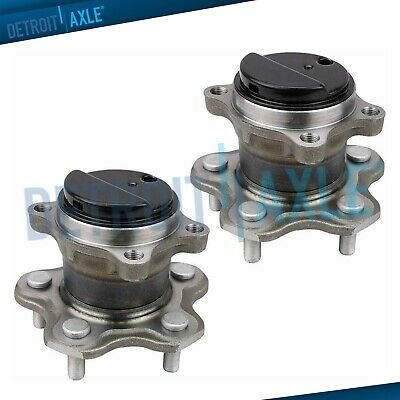 (2) Rear Wheel Bearing Hub Assembly for 2013 2014 2015 2016 Nissan Leaf - FWD