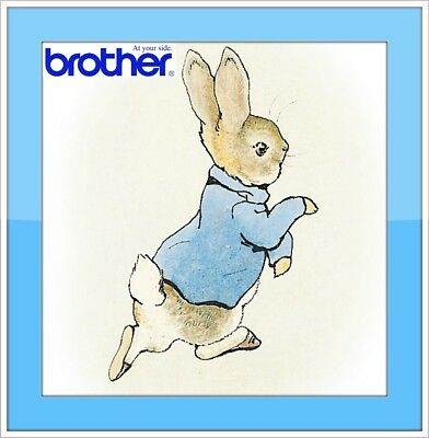 26 PETER RABBIT Original brother Machine Embroidery Designs files pes format